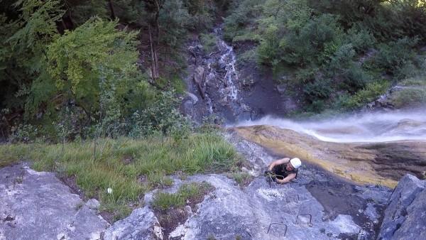 Wasserfall Klettersteig St. Anton am Bartholomäberg