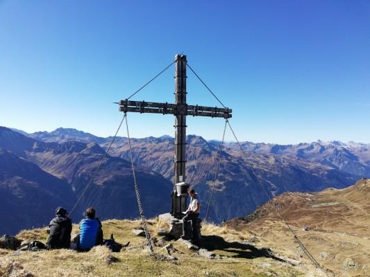 Gipfelwansderungen im Montafon