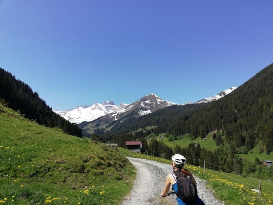 Mountainbike-Tour im Montafon
