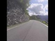 Motorradfahrt von St. Anton im Montafon nach Bartholomäberg